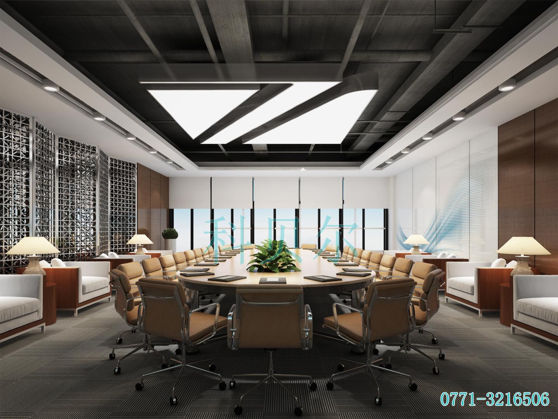 办公室效果图017